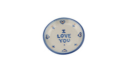 "4"" Coaster - I Love You"