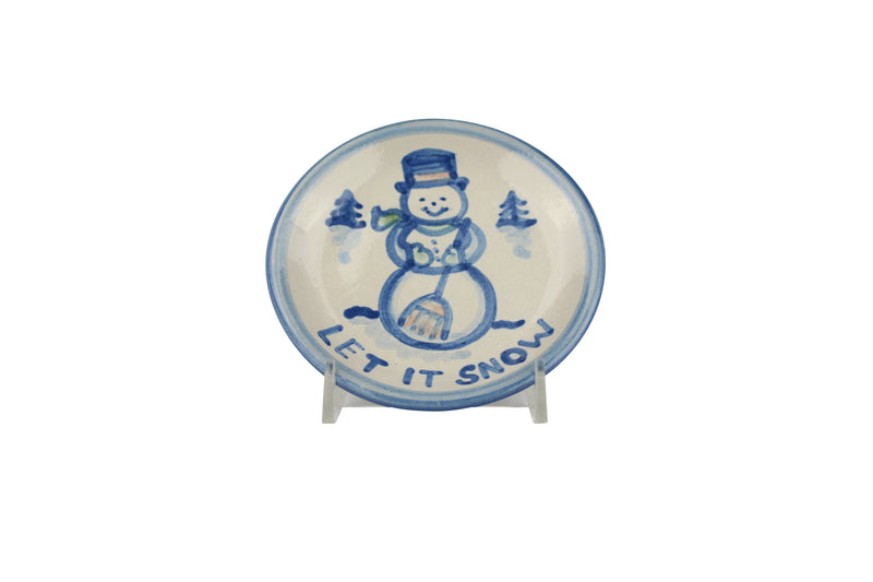 "4"" Coaster - Let It Snow"