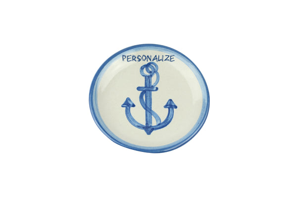 "Personalized 4"" Coaster - Anchor"