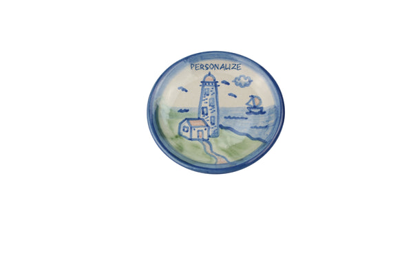 "Personalized 4"" Coaster - Lighthouse"