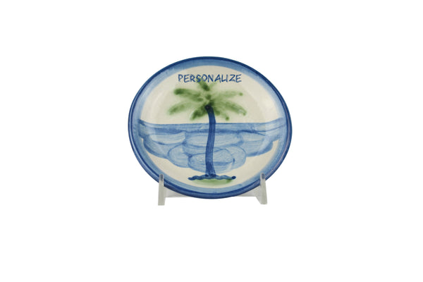 "Personalized 4"" Coaster - Palm Tree"