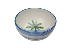 "8"" Deep Bowl - Palm Tree"
