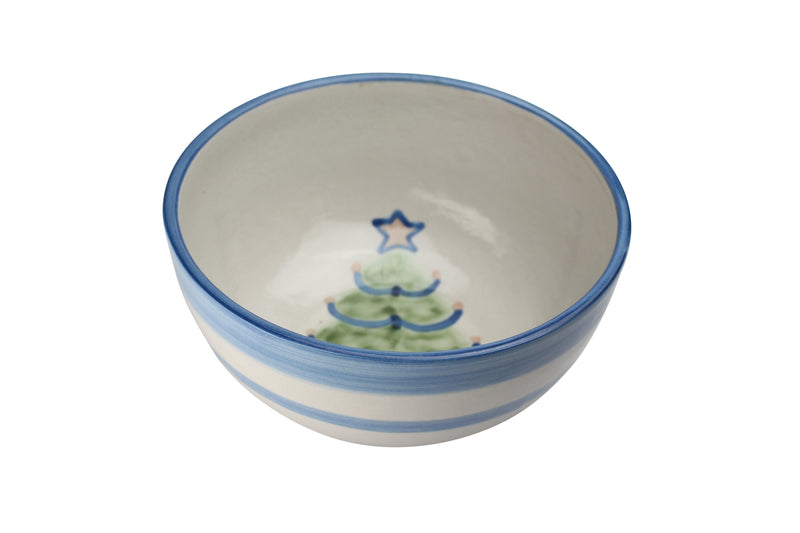 "8"" Deep Bowl - Christmas Tree"