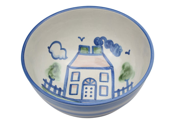 "11"" Deep Bowl - Country House"