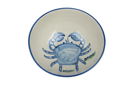 "11"" Deep Bowl - Crab"