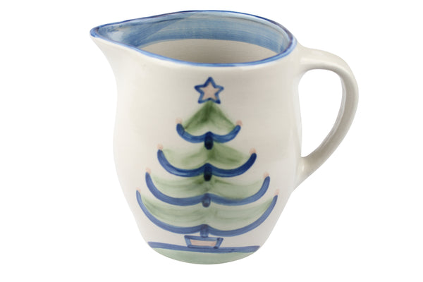 2 Qt. Pitcher - Christmas Tree