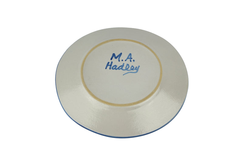 "Personalized 9"" Plate - Pirate (1 line)"