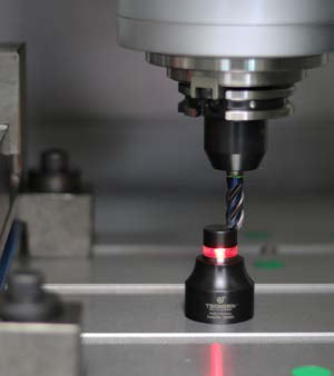 002050000 Tschorn Zero Setter Optical 50mm in use in machine tool