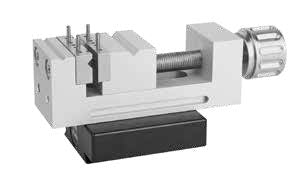 270855 - DK Fixiersysteme SWA39 35mm Stainless Precision Centric Vice - 55mm Height