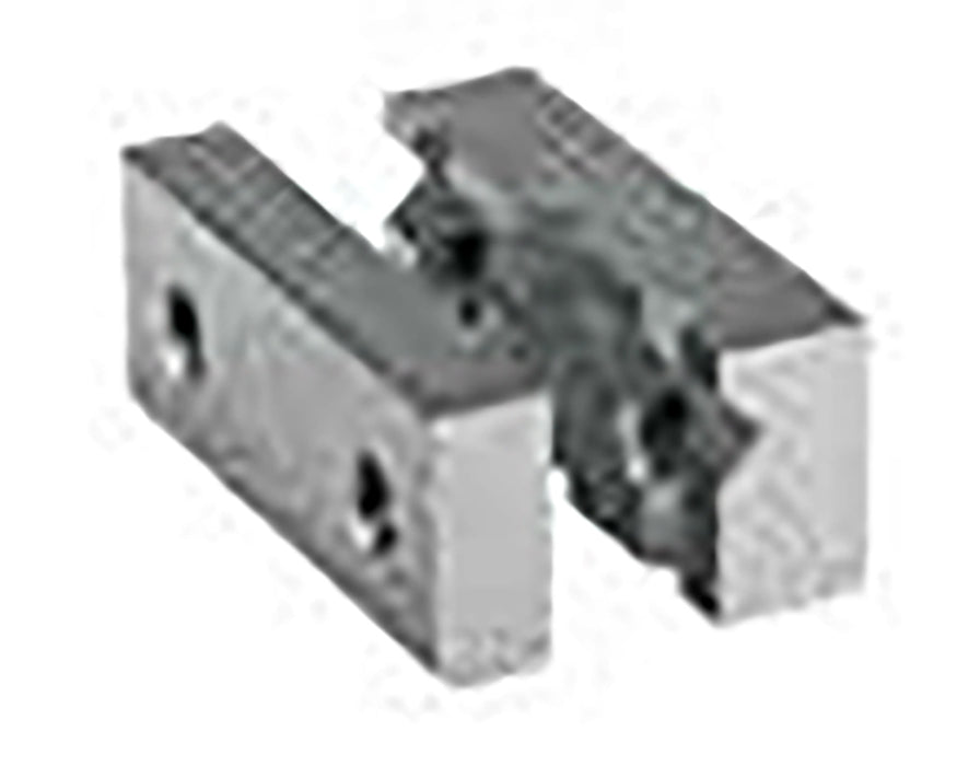 270861 - DK Fixiersysteme SWA39 35mm Stainless Steel Form Jaw with V-Block