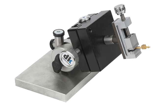 270910 - DK Fixiersysteme SWA39 15mm Brass Precision Centric Vice - 61mm Height Apploation Example 2