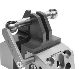 282105 - DK Fixiersysteme SWA39 50 mm Precision Vice - No Accessories Application Example