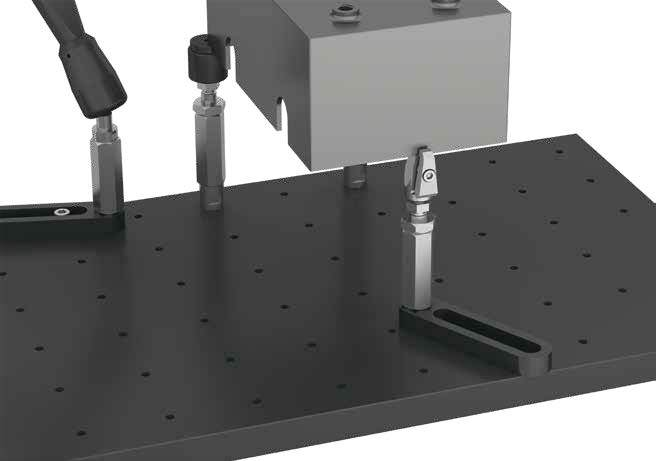 322010 - DK Fixiersysteme Spannfix Eco M10 Base Rail Application Example