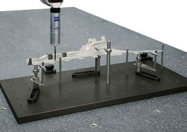 395020 - DK Fixiersysteme Spannfix Eco Baseplate with Tapped Holes 300x300x20 Application Example