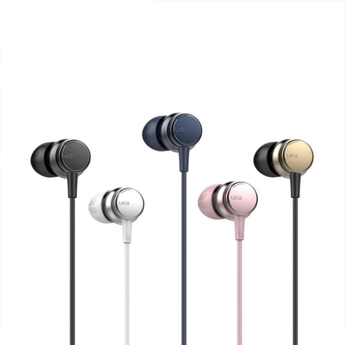UiiSii HM9 Wired 120° design Noise Cancelling Bass In-Ear Earphones-Wholesale-Uiisii
