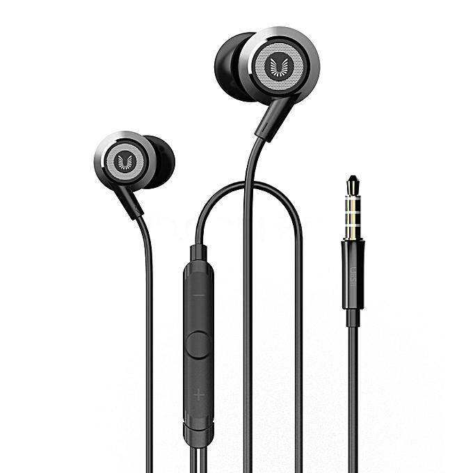 UiiSii HI820 Stereo Noise Cancelling Hi-Res Bass Earphones with Mic-Wholesale-Uiisii