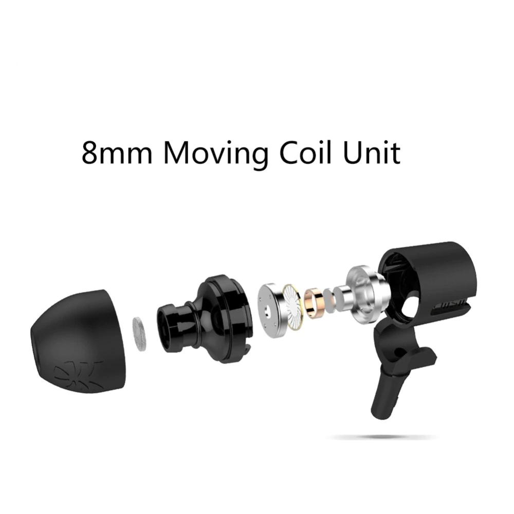 UiiSii U7 Moving Coil In Ear HiFi Bass Earphones for Andriod-Wholesale-Uiisii