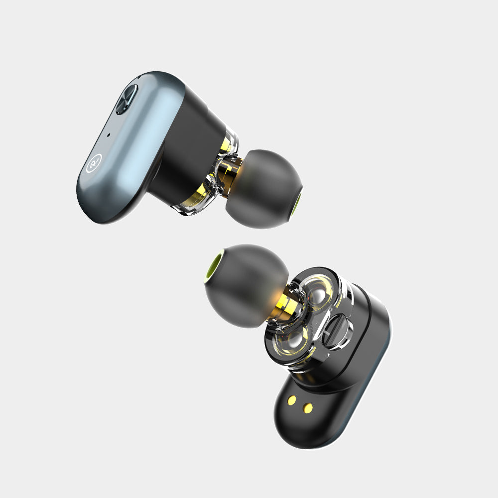 Wintory Dual 1 Two Dynamic Driver Headphones Wholesale
