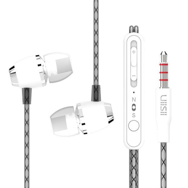 UiiSii U4 Stereo Noise-isolating Dynamic Driver Wired Earphones-Wholesale-Uiisii