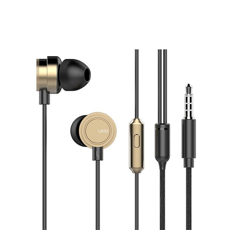 UiiSii HM13 Piston In-Ear Heavy Bass Stereo Headphones with Mic-Wholesale-Uiisii