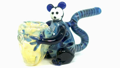 Glass Monkey Pipe