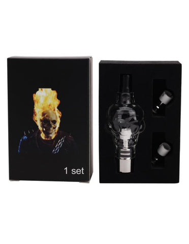 Glass SKull Design  Vape Tank Ceramic Atomizer