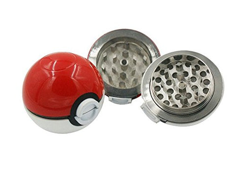 Pokemon Go Herb Tobacco Pipe Metal Grinder with Black Gift Box.