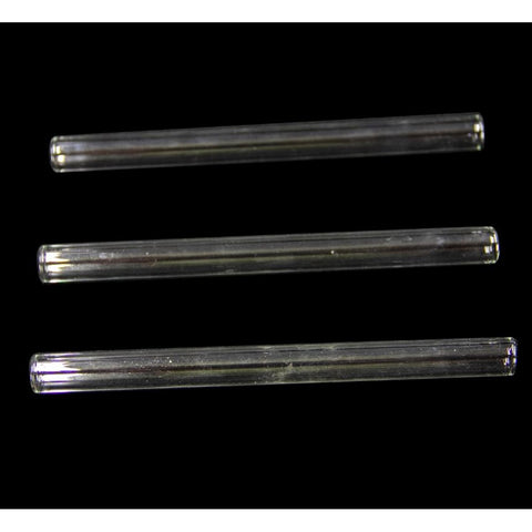 "8"" Straight Plain Thick Glass Tube"