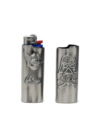Darth Vader - Yoda the SHuttle Full Size Bic LIghter Sleve Casee,