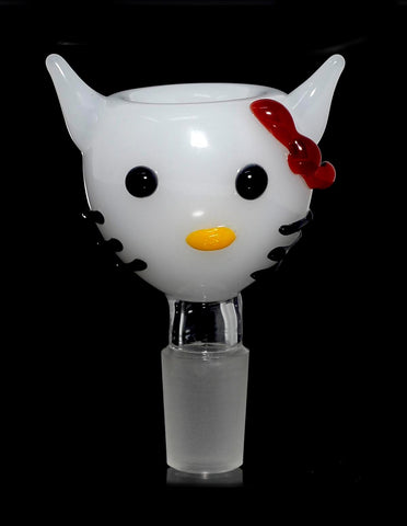Hello Kitty Glass on Glass Bowl