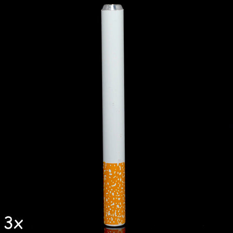 78mm Metal Cigarette One Hitter Tobacco Pipe