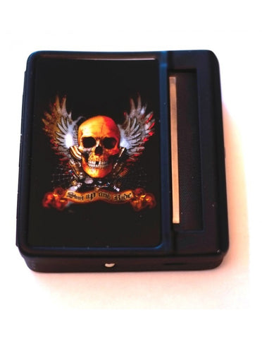 Shut up and Ride ,70mm Cigarette roller & case storage