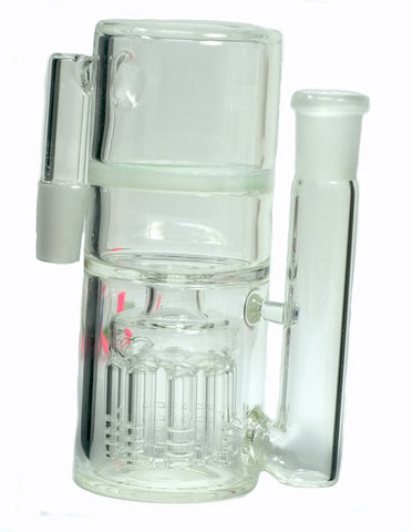 Ashcatcher with 8 Perculator Arms and Honeycomb filters