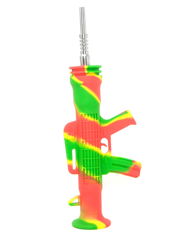 "6.5"" AK Shape Silicone Rifle Nector Collector"
