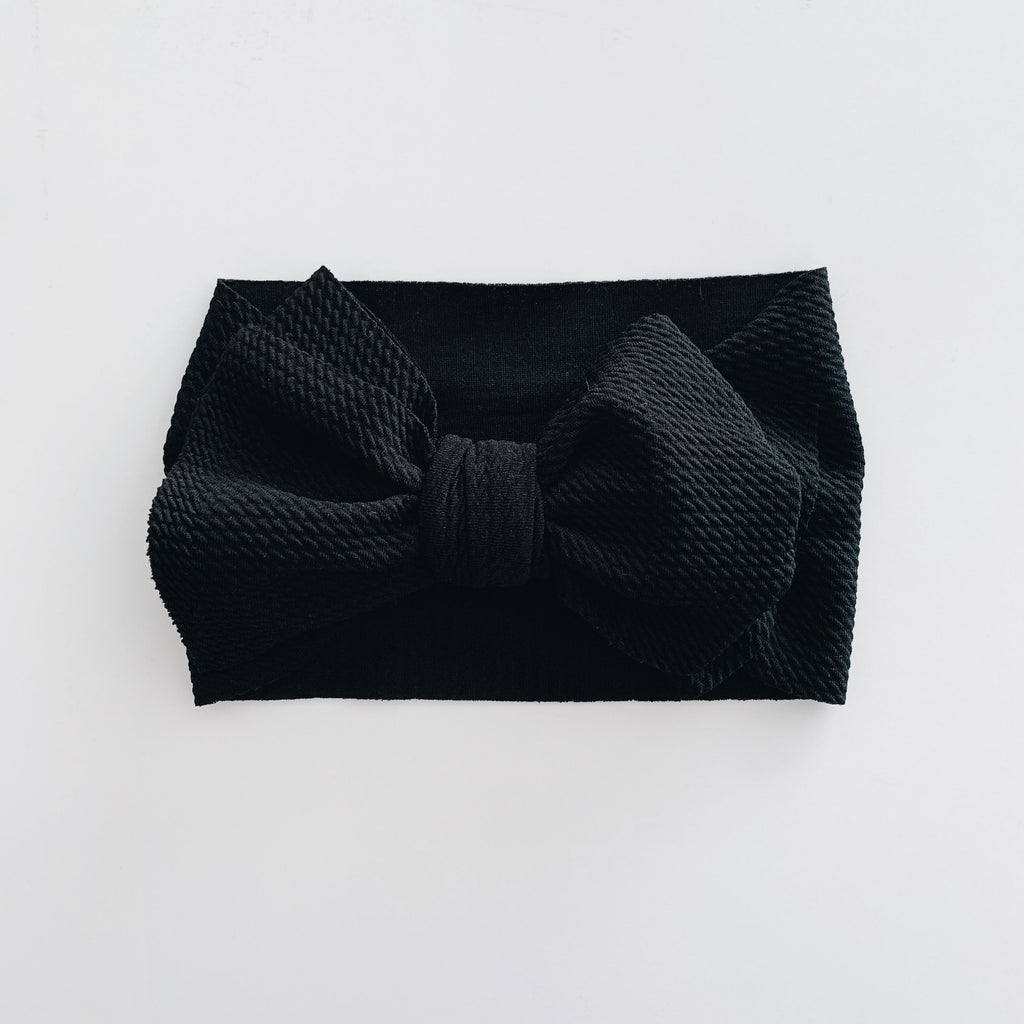 Baby Headwrap - Black