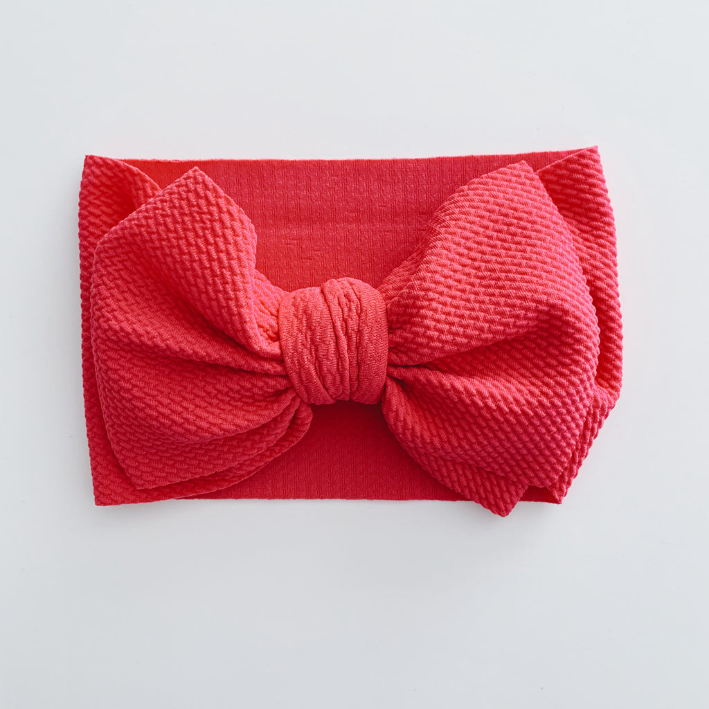 Baby Headwrap - Hot Pink