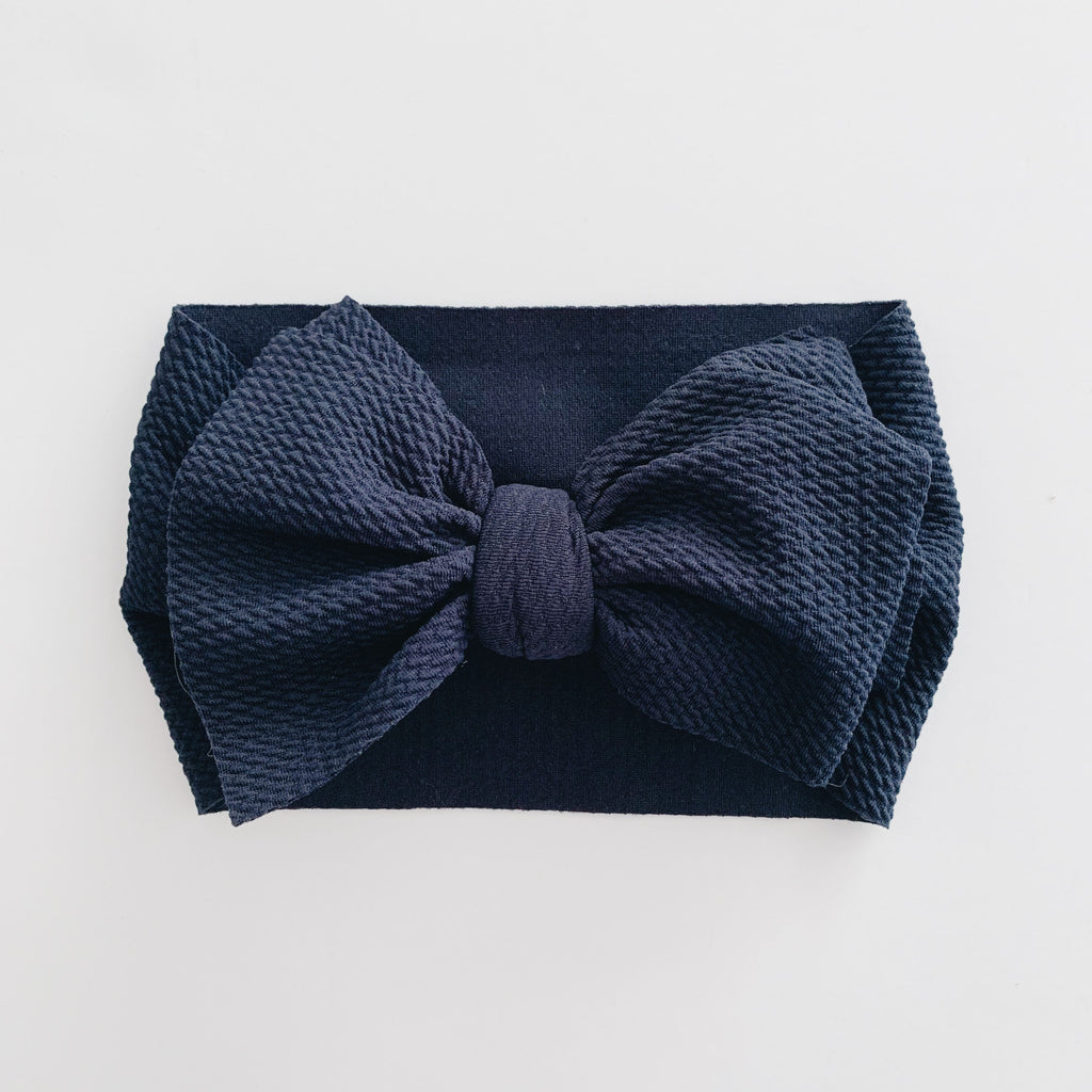 Baby Headwrap - Navy