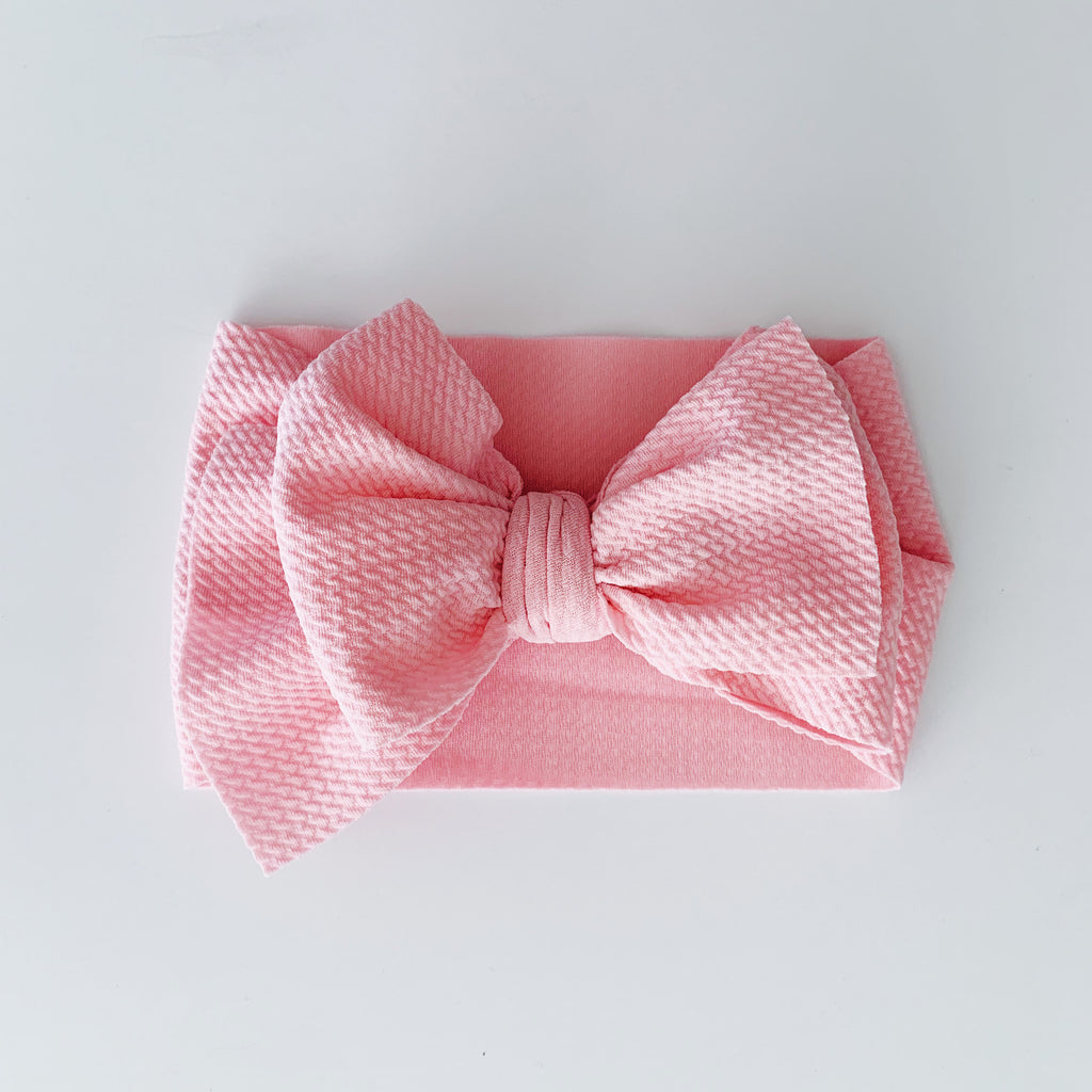 Baby Headwrap - Pink