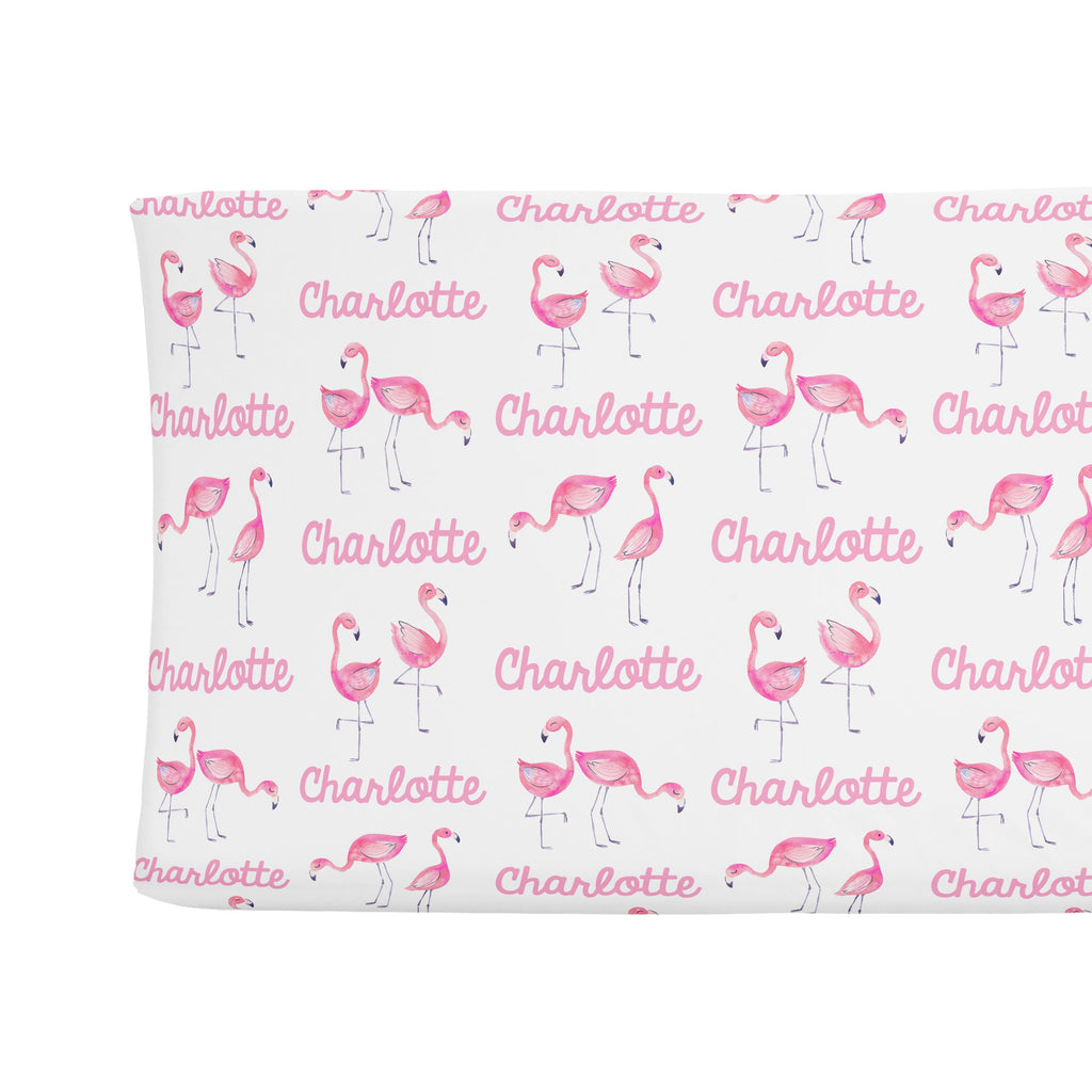 Changing Pad Cover - Flamingo