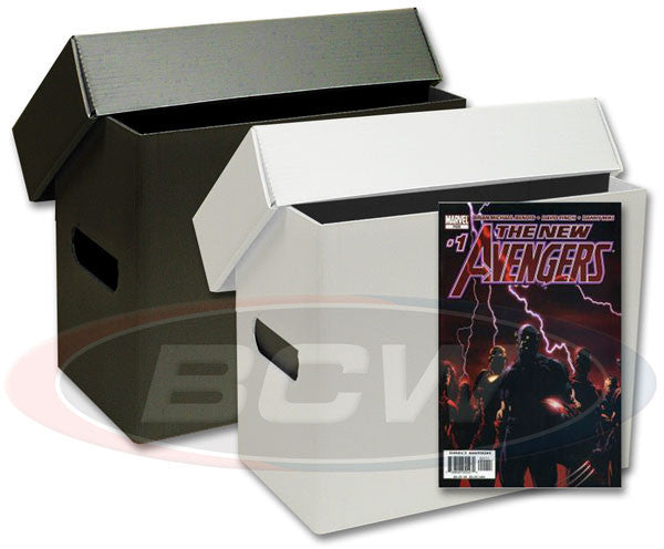 Short Comic Book Storage Box - Plastic