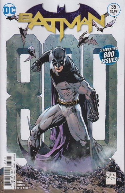 BATMAN #35  REBIRTH  VAR