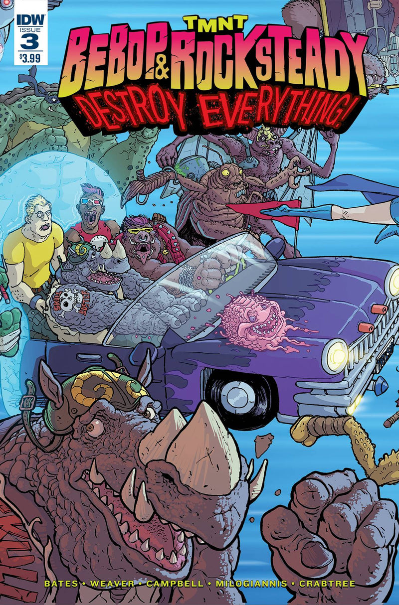 TMNT: Bebop & Rocksteady Destroy Everything #3