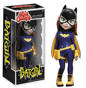 DC HEROES BURNSIDE  BATGIRL ROCK CANDY FIGURES