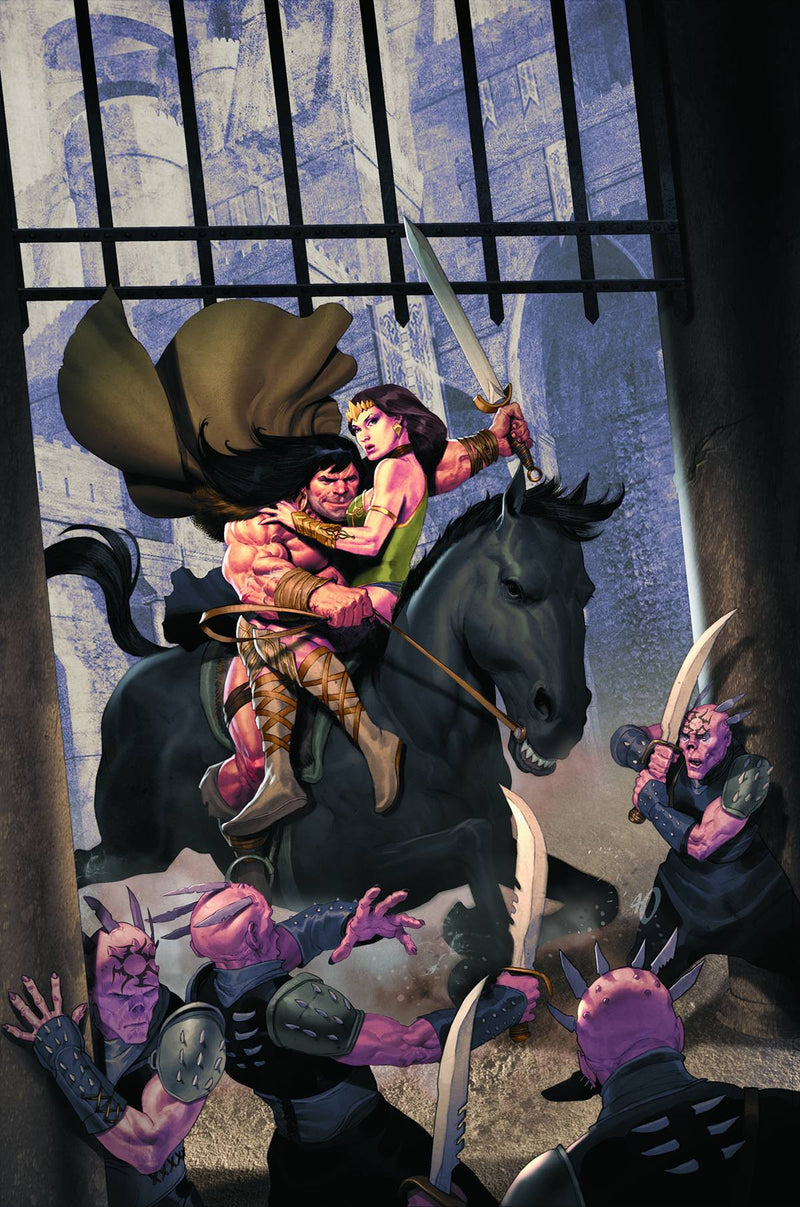 CONAN AND THE PEOPLE OF THE BLACK CIRCLE #1 (OF 4)
