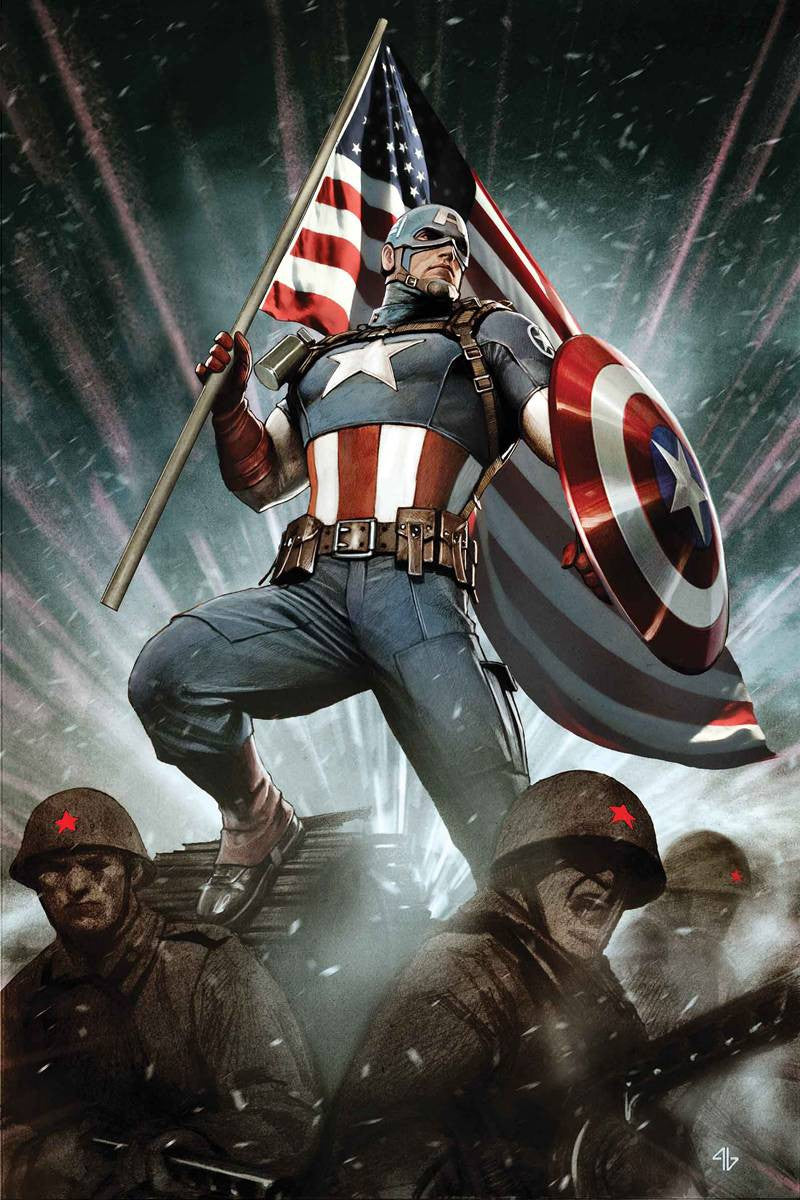 CAPTAIN AMERICA: LIVING LEGEND #1 (of 4)