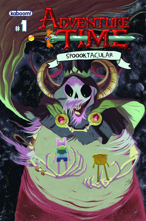 ADVENTURE TIME SPOOOKTACULAR