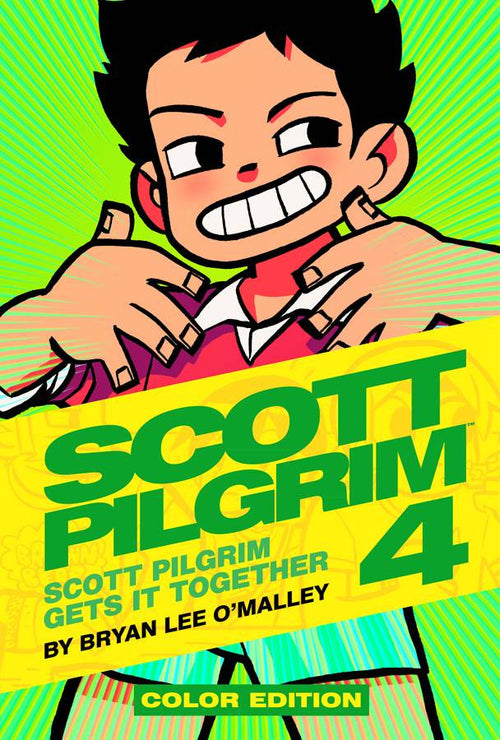 SCOTT PILGRIM COLOR EDITION VOLUME 4: SCOTT PILGRIM GETS IT TOGETHER HC