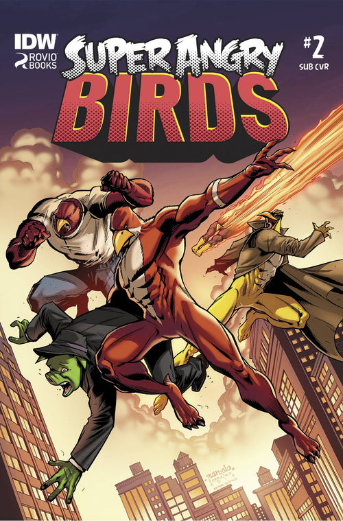 ANGRY BIRDS: SUPER ANGRY BIRDS # 2 (OF 4)