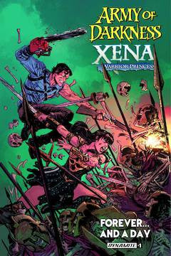 ARMY OF DARKNESS/XENA: FOREVER…AND A DAY #1 (OF 6)