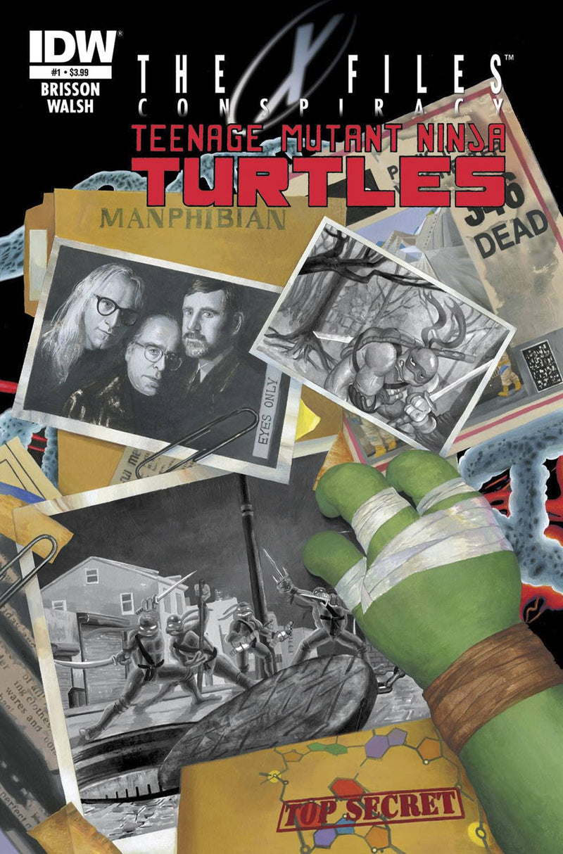 THE X-FILES: CONSPIRACY—TMNT
